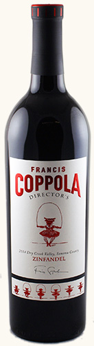 francis ford coppola directors zinfandel 2014 eur 25 90. Black Bedroom Furniture Sets. Home Design Ideas